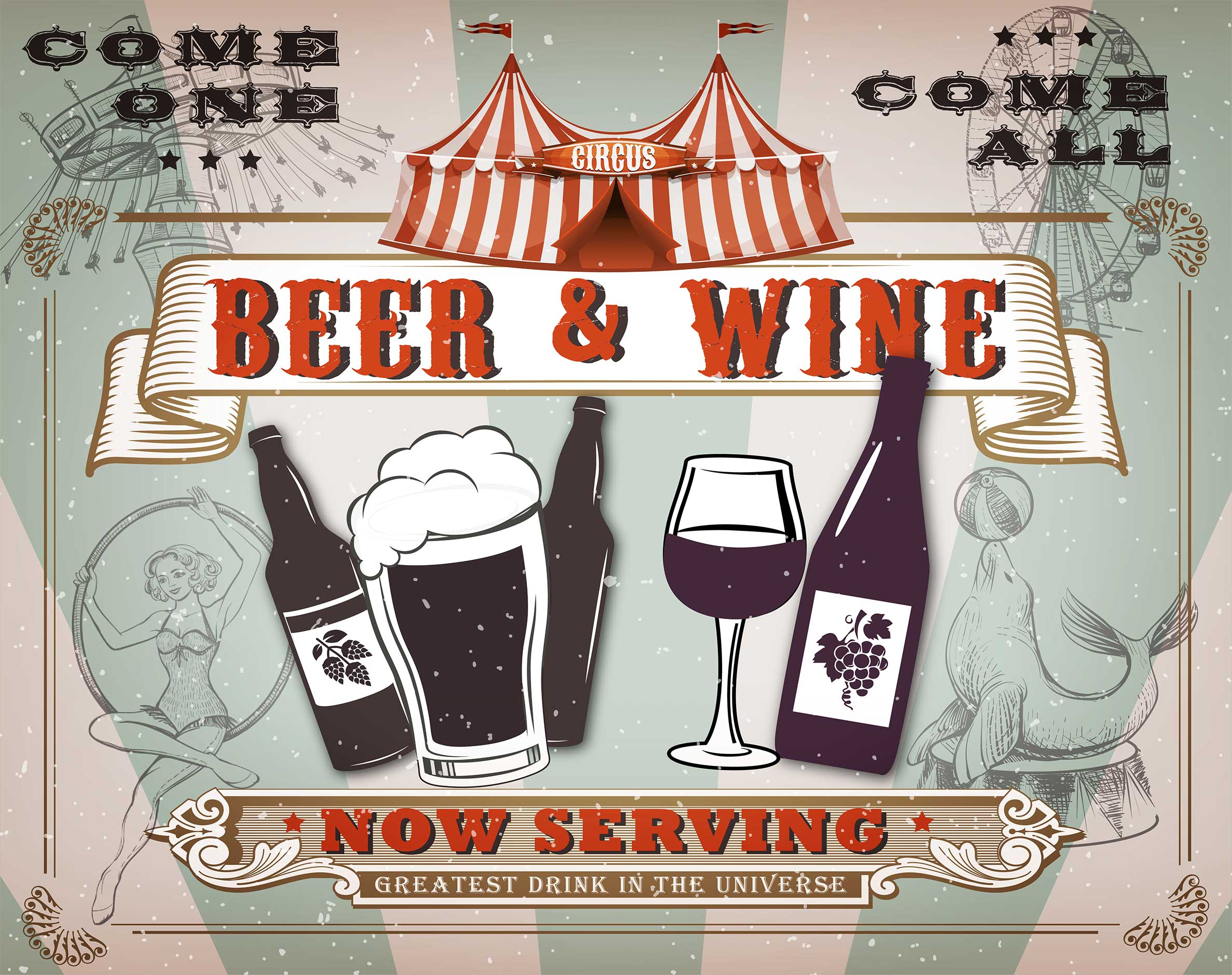 Beer and Wine coming soon!